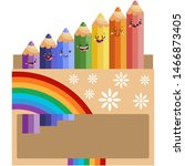 Cute Color Pencil Characters I...