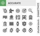 set of accurate icons such as... | Shutterstock .eps vector #1466879495