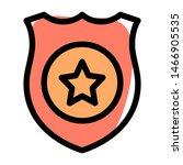 police officer outstanding... | Shutterstock .eps vector #1466905535