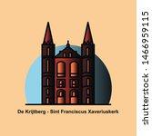 de krijtberg   sint franciscus... | Shutterstock .eps vector #1466959115