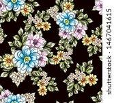 flower print. elegance seamless ... | Shutterstock .eps vector #1467041615