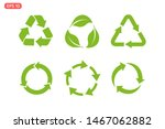 recycle icon template color... | Shutterstock .eps vector #1467062882