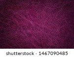 Lacquered Dark Purple Leather...
