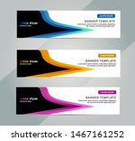 banner  header template. vector ... | Shutterstock .eps vector #1467161252