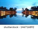 vacation resort at the beach...   Shutterstock . vector #146716892