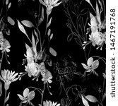 imprints meadow rustic flower...   Shutterstock . vector #1467191768