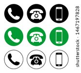 phone icon vector. call icon... | Shutterstock .eps vector #1467197828