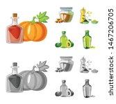 vector design of healthy and... | Shutterstock .eps vector #1467206705