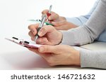 businessmans working with... | Shutterstock . vector #146721632
