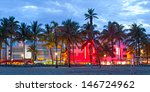miami beach  florida  hotels... | Shutterstock . vector #146724962