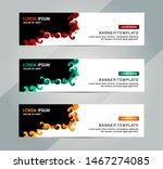 banner  header template. vector ... | Shutterstock .eps vector #1467274085