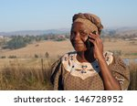 traditional african zulu woman... | Shutterstock . vector #146728952