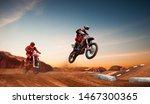 Motocross Rider In Action....