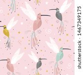 seamless childish pattern with... | Shutterstock .eps vector #1467349175
