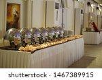 decorated wedding banquet hall... | Shutterstock . vector #1467389915