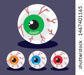 Halloween Party Zombie Eyeballs ...