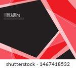 geometric vector background.... | Shutterstock .eps vector #1467418532