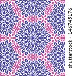 pink and blue abstract hand... | Shutterstock .eps vector #146745176