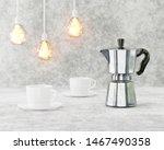 loft interior. conceptual cafe... | Shutterstock . vector #1467490358