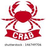 Crab Label  Symbol