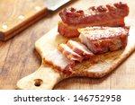 Baked Carameled Pork Belly