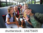 Elementary School Students On...