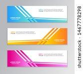 business banner template ... | Shutterstock .eps vector #1467778298