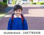 outdoor portrait of happy child ...   Shutterstock . vector #1467785438
