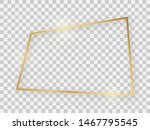 gold shiny rectangular frame... | Shutterstock . vector #1467795545