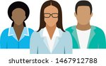 medical team. icons with... | Shutterstock .eps vector #1467912788