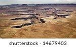 canyonlands vista - stock photo