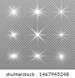 white glowing light explodes on ... | Shutterstock .eps vector #1467945248
