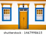 Colorful Door And Windows Of A...