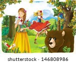 the princesses   wide... | Shutterstock . vector #146808986