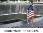 Flag At World Trade Center...