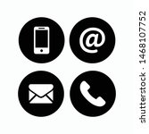 communication icons in the...   Shutterstock .eps vector #1468107752