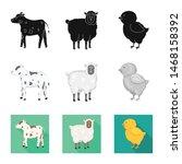 vector illustration of breeding ... | Shutterstock .eps vector #1468158392