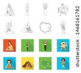 vector design of evolution and... | Shutterstock .eps vector #1468161782