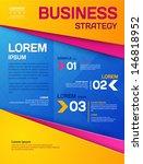 business template. poster.... | Shutterstock .eps vector #146818952