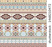 mayan american indian pattern... | Shutterstock .eps vector #1468210472