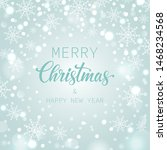 holiday snowflake pattern ... | Shutterstock .eps vector #1468234568