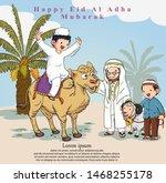 Happy Eid Adha Illustration...