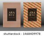 muslim pattern vector cover... | Shutterstock .eps vector #1468409978
