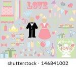 wedding bliss | Shutterstock .eps vector #146841002