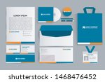 set of business corporate... | Shutterstock .eps vector #1468476452