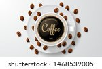 international coffee day.... | Shutterstock .eps vector #1468539005