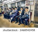 tokyo  japan   may 12 2015 ... | Shutterstock . vector #1468542458