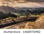 California Winding Highway In...