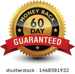 golden glossy  top quality 60... | Shutterstock .eps vector #1468581932
