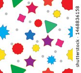 amazing simple colorful pattern ... | Shutterstock .eps vector #1468836158